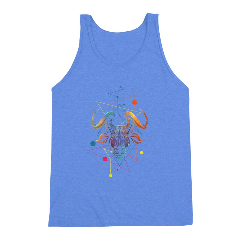 Taurus Men's Triblend Tank by angoes25's Artist Shop