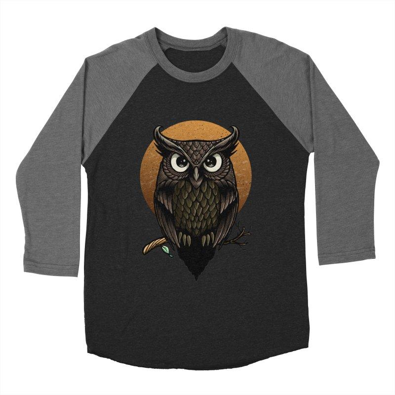 Owl-Fullmoon Men's Longsleeve T-Shirt by angoes25's Artist Shop