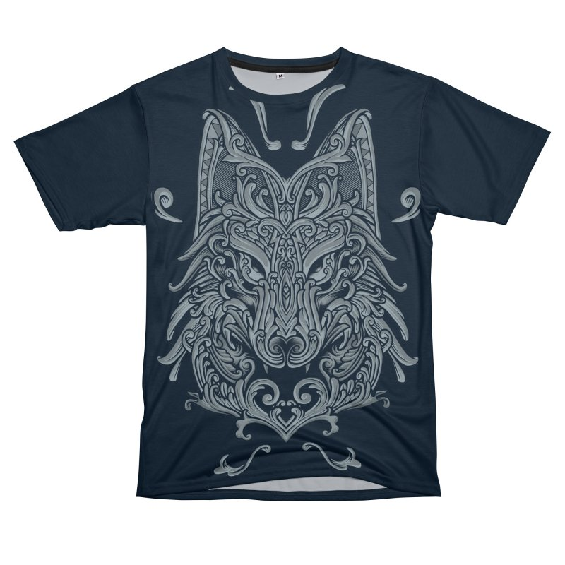 Ornate Wolf Men's Cut & Sew by angoes25's Artist Shop