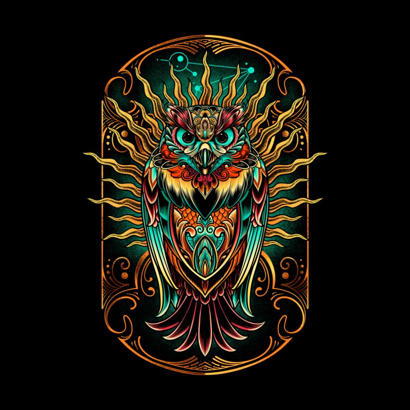 Owl - soulkeeper Men's T-Shirt by angoes25's Artist Shop