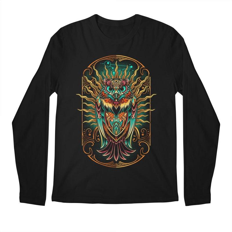 Owl - soulkeeper Men's Longsleeve T-Shirt by angoes25's Artist Shop