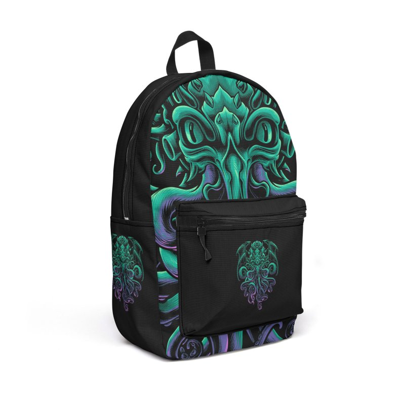 The Old God Of R'lyeh Accessories Backpack Bag by angoes25's Artist Shop