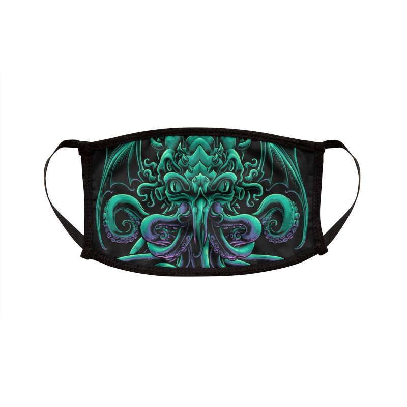 The Old God Of R'lyeh Accessories Face Mask by angoes25's Artist Shop