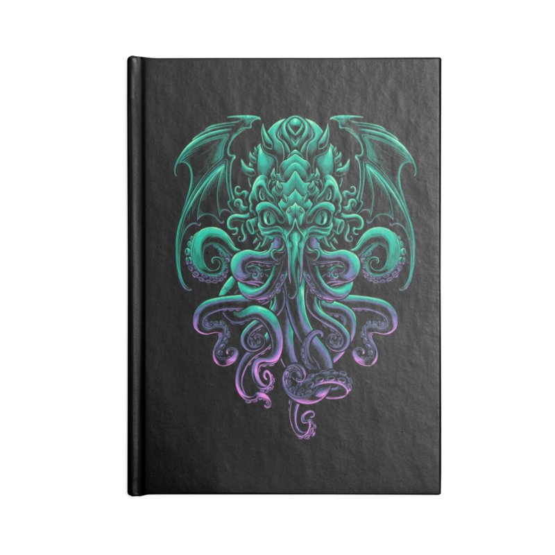 The Old God Of R'lyeh Accessories Lined Journal Notebook by angoes25's Artist Shop