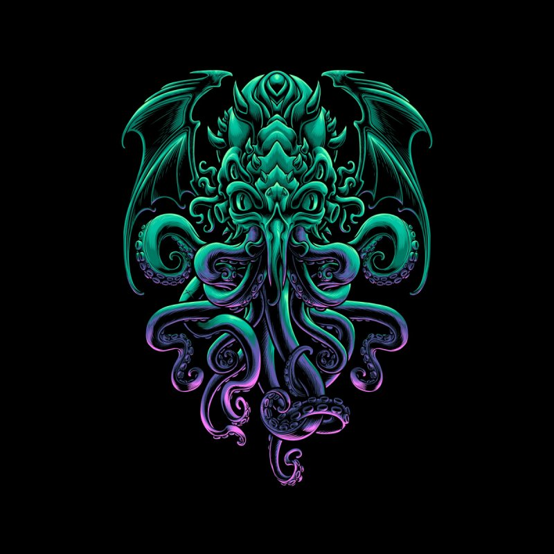 The Old God Of R'lyeh Women's Longsleeve T-Shirt by angoes25's Artist Shop
