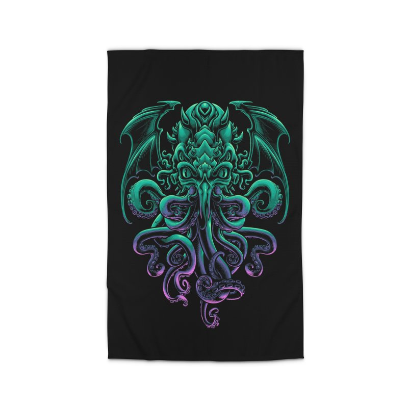 The Old God Of R'lyeh Home Rug by angoes25's Artist Shop
