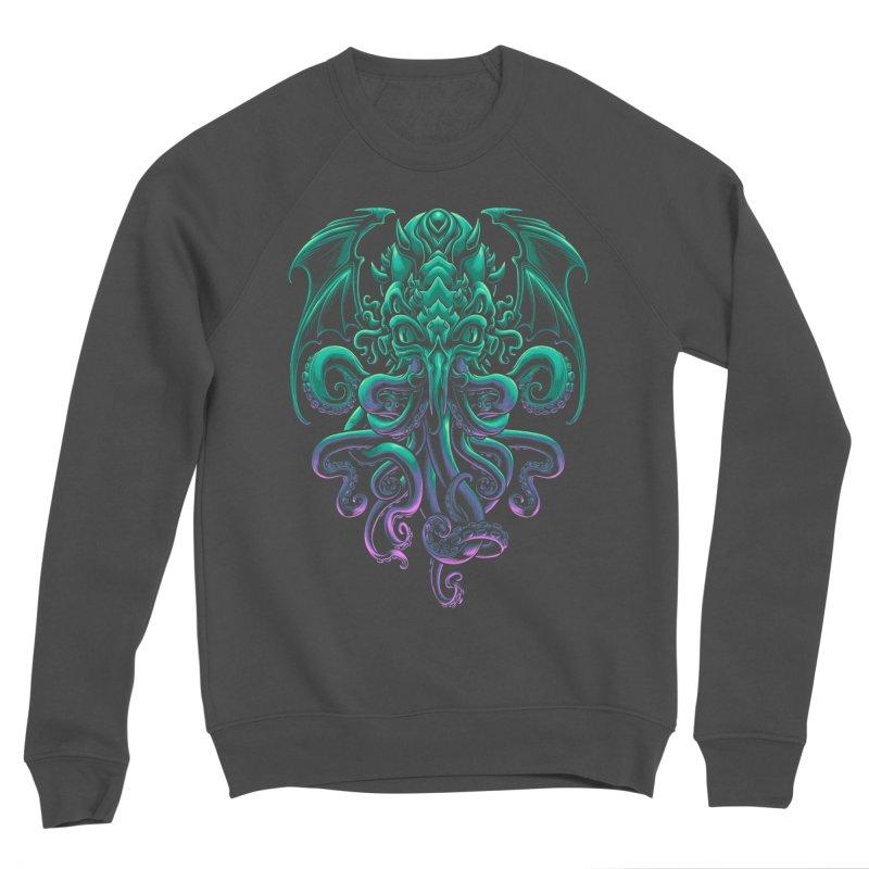 The Old God Of R'lyeh Women's Sponge Fleece Sweatshirt by angoes25's Artist Shop