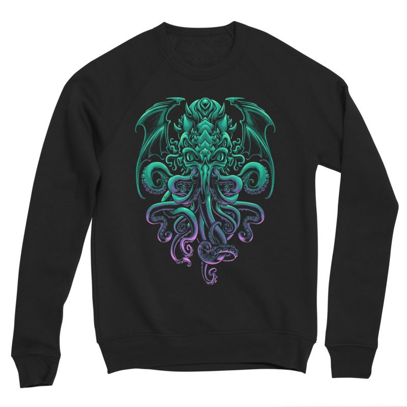 The Old God Of R'lyeh Men's Sponge Fleece Sweatshirt by angoes25's Artist Shop