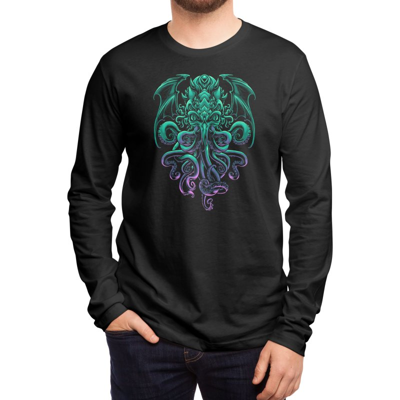 The Old God Of R'lyeh Men's Longsleeve T-Shirt by angoes25's Artist Shop