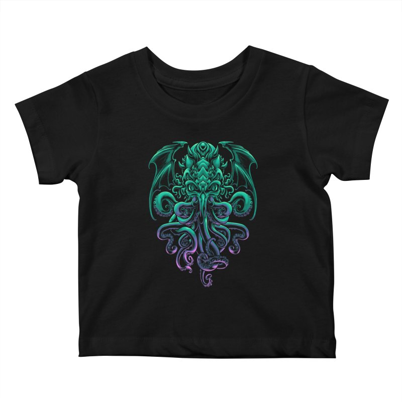 The Old God Of R'lyeh Kids Baby T-Shirt by angoes25's Artist Shop