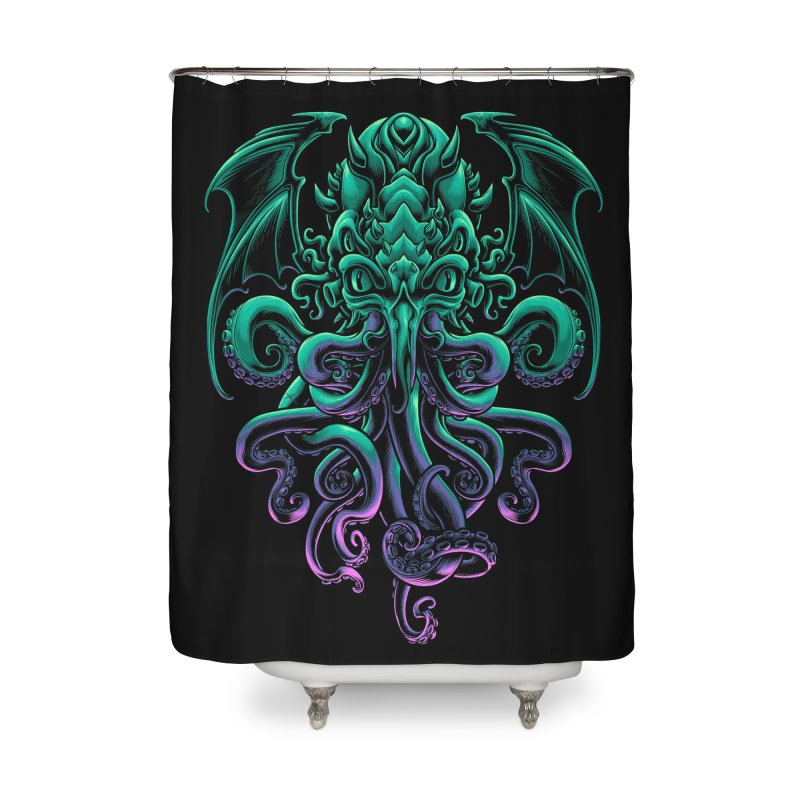 The Old God Of R'lyeh Home Shower Curtain by angoes25's Artist Shop