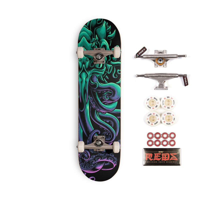The Old God Of R'lyeh Accessories Complete - Pro Skateboard by angoes25's Artist Shop