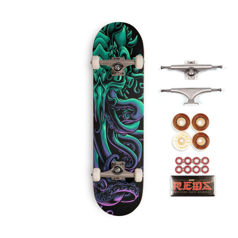 The Old God Of R'lyeh Accessories Skateboard by angoes25's Artist Shop