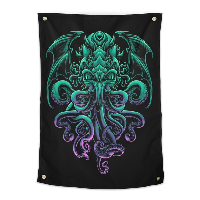 The Old God Of R'lyeh Home Tapestry by angoes25's Artist Shop