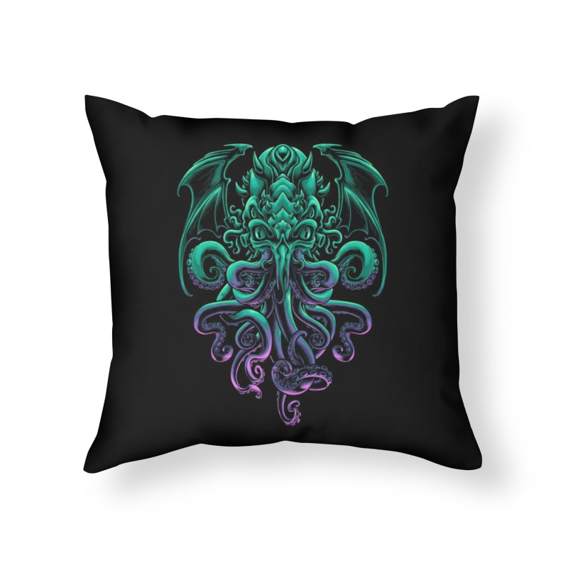 The Old God Of R'lyeh Home Throw Pillow by angoes25's Artist Shop