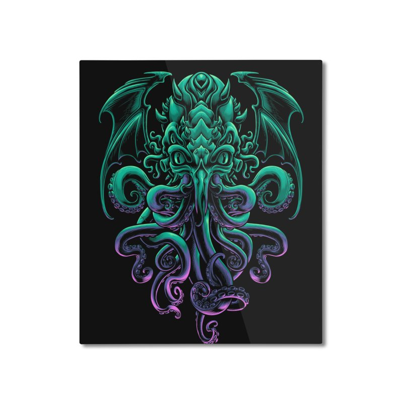 The Old God Of R'lyeh Home Mounted Aluminum Print by angoes25's Artist Shop