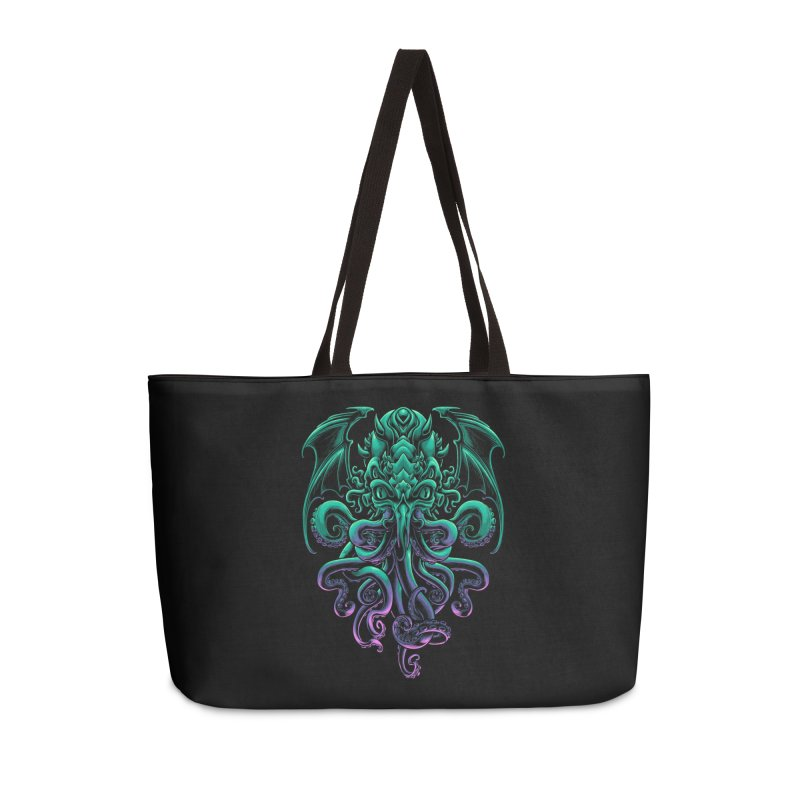 The Old God Of R'lyeh Accessories Weekender Bag Bag by angoes25's Artist Shop