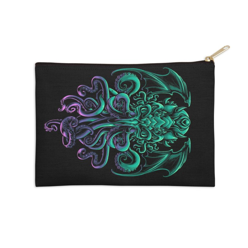 The Old God Of R'lyeh Accessories Zip Pouch by angoes25's Artist Shop