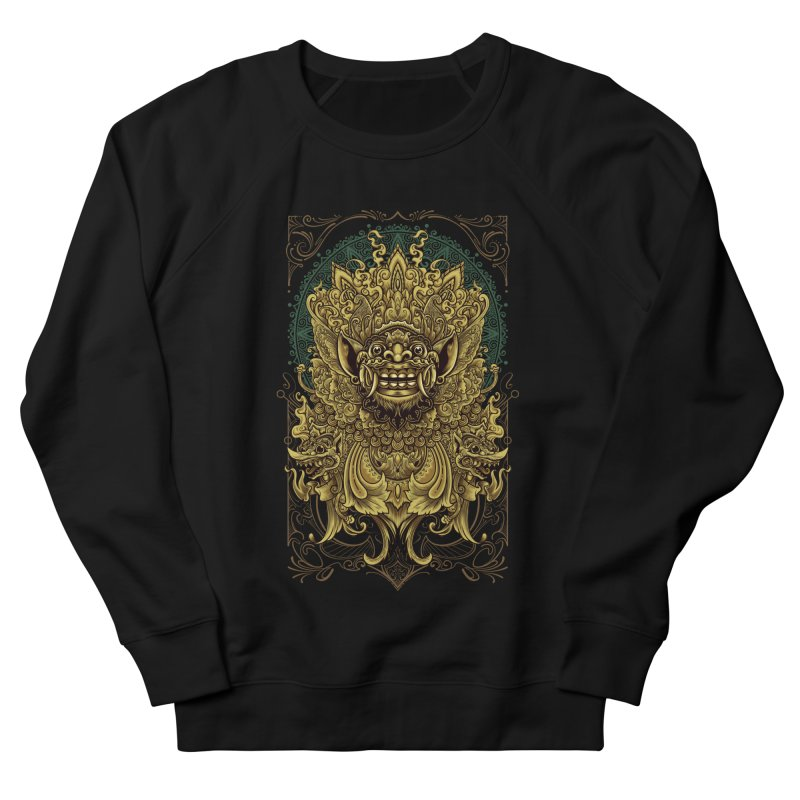 Balinese Barong Women's French Terry Sweatshirt by angoes25's Artist Shop