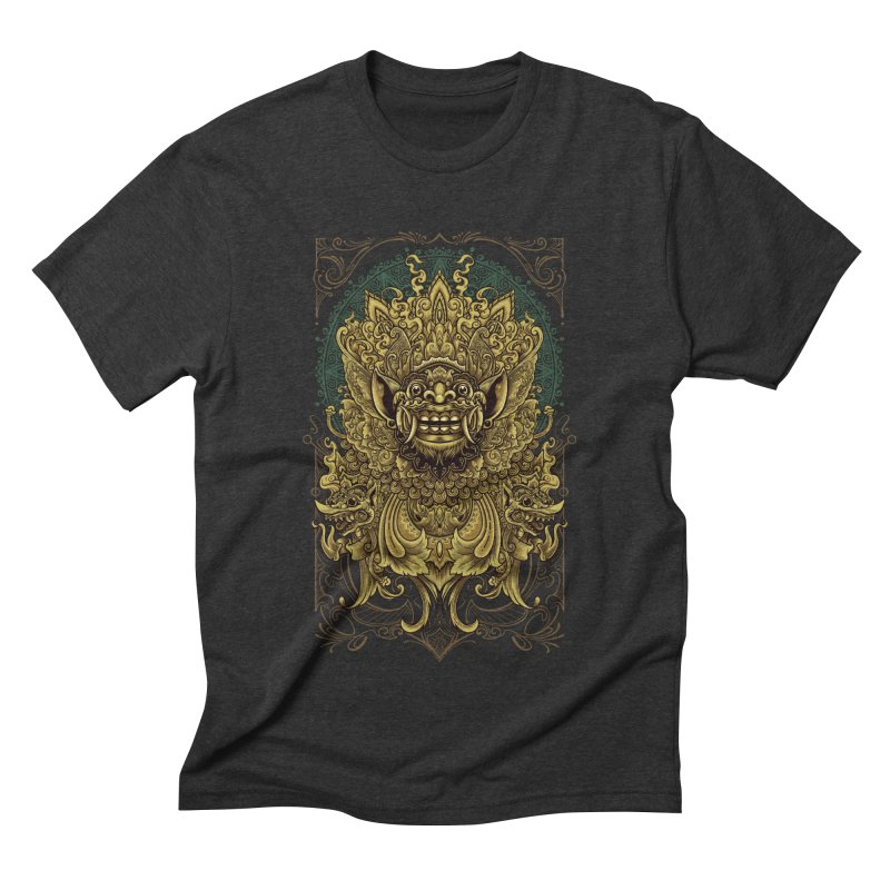Balinese Barong Men's Triblend T-Shirt by angoes25's Artist Shop
