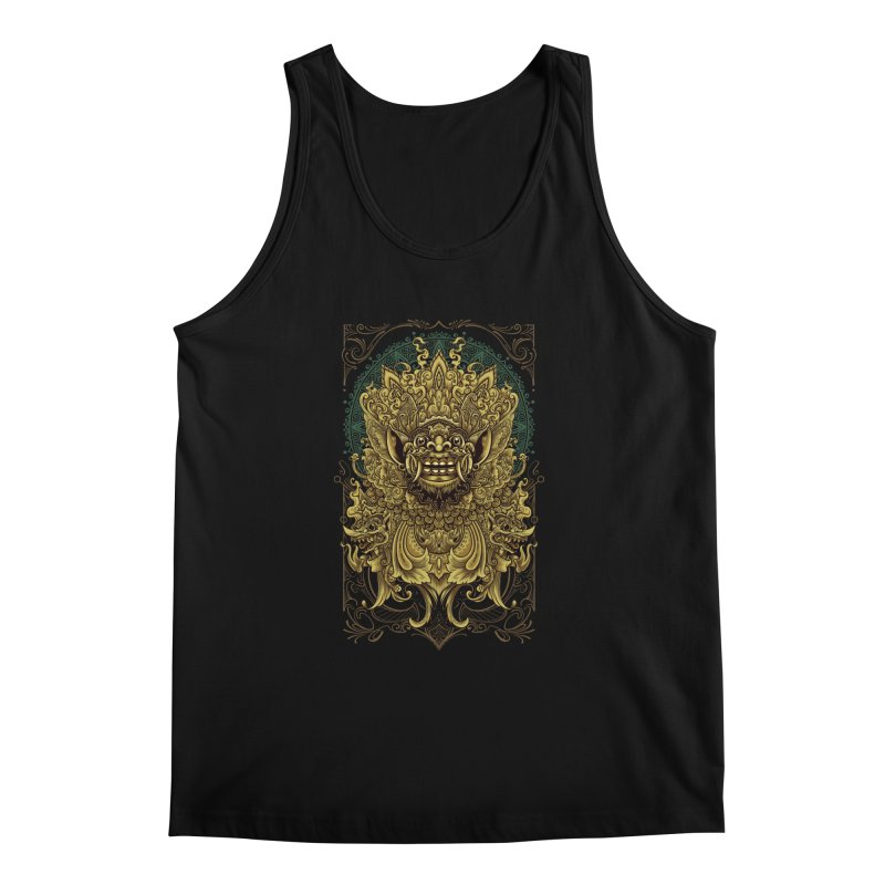 Balinese Barong Men's Regular Tank by angoes25's Artist Shop
