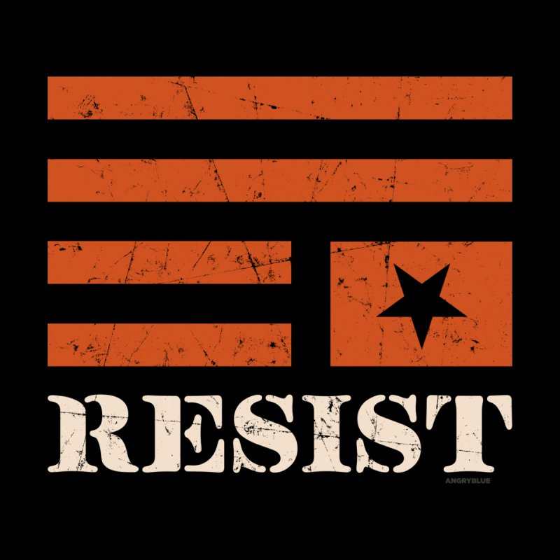 RESIST Men's T-Shirt by Angryblue