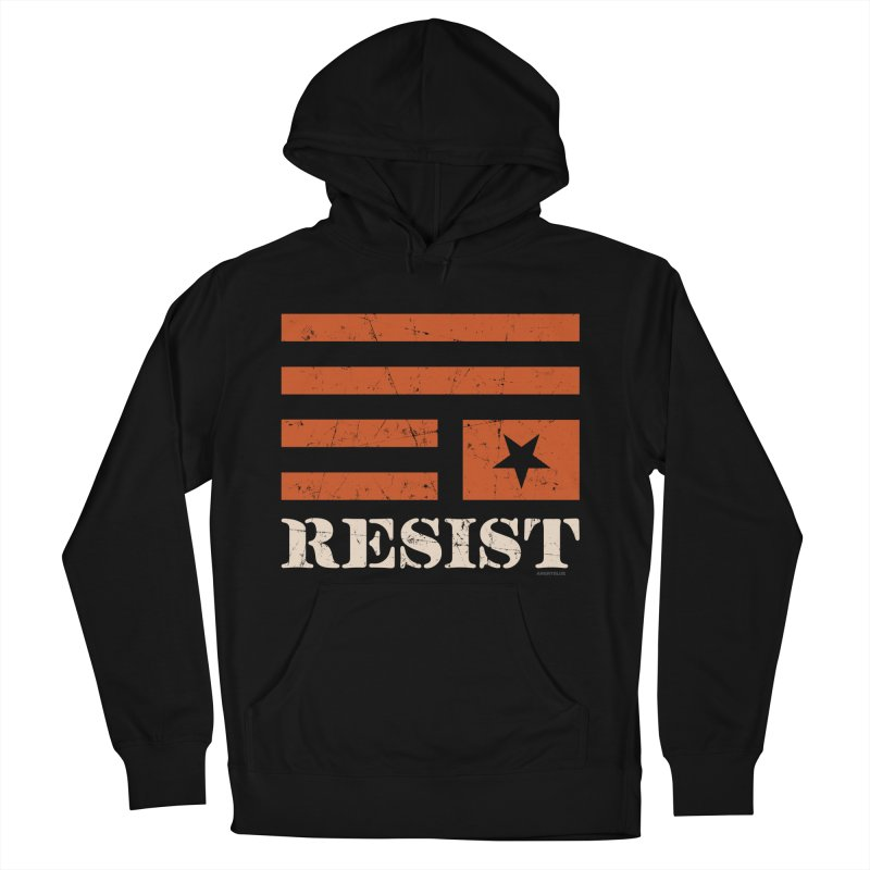 RESIST Men's Pullover Hoody by angryblue's Artist Shop