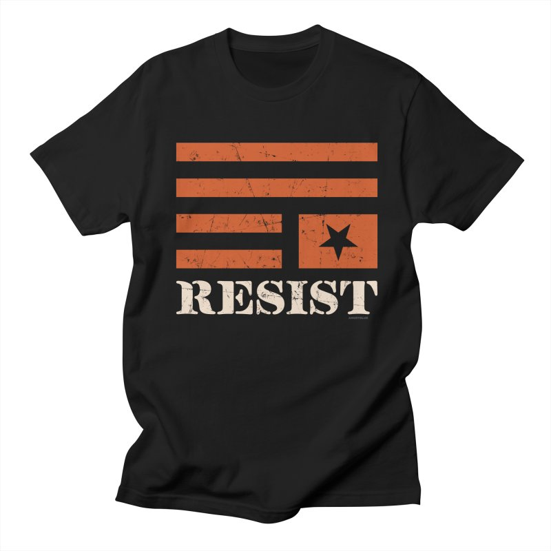 RESIST Women's Unisex T-Shirt by angryblue's Artist Shop