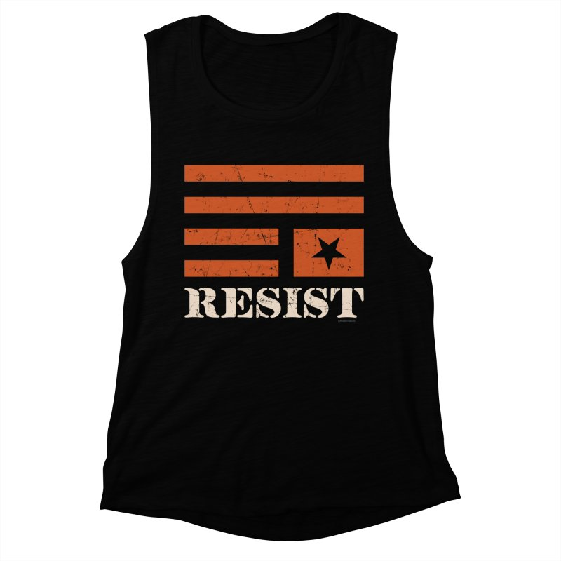 RESIST Women's Muscle Tank by Angryblue