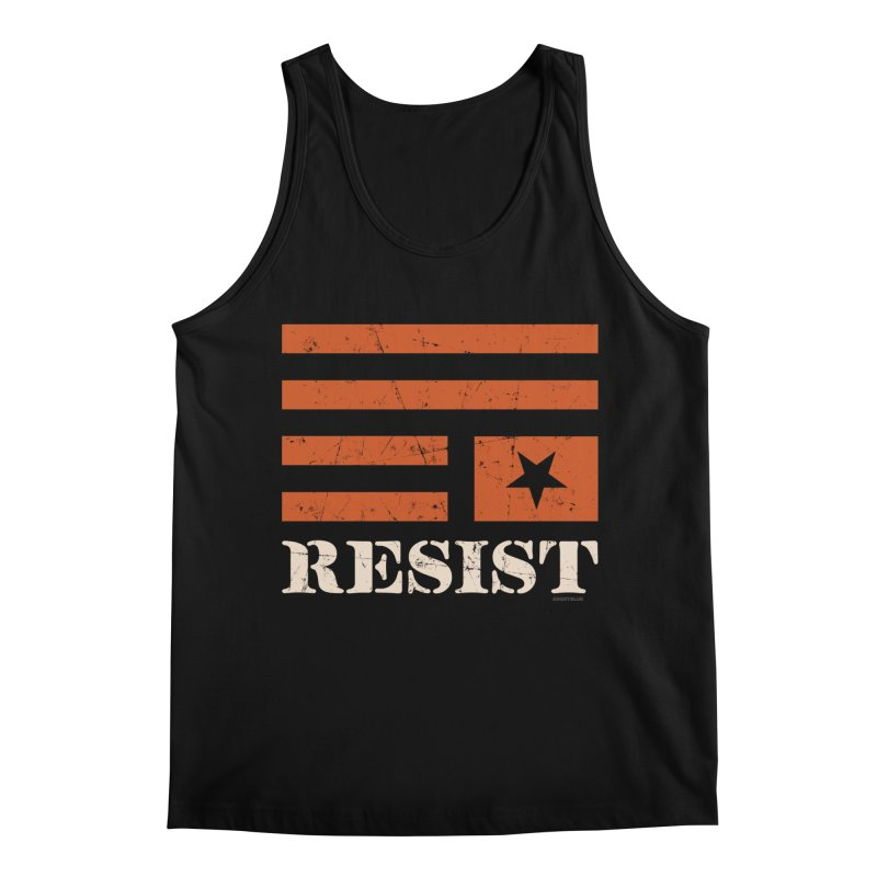 RESIST Men's Regular Tank by Angryblue