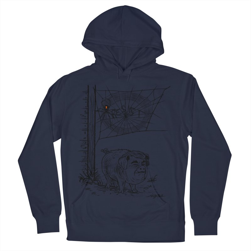 Bad Charlatan Men's French Terry Pullover Hoody by Angryblue