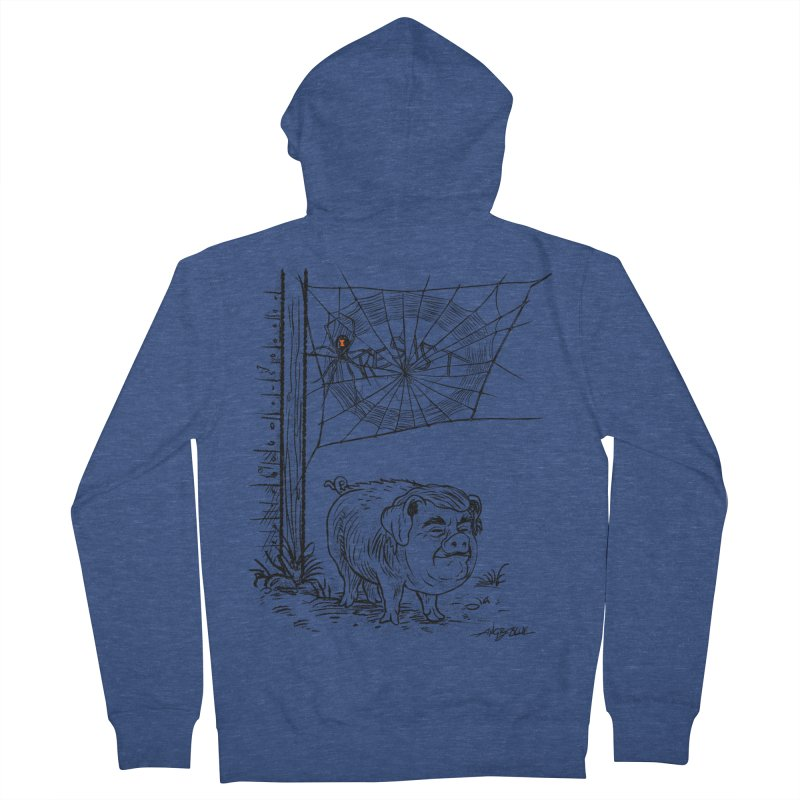 Bad Charlatan Women's French Terry Zip-Up Hoody by angryblue's Artist Shop