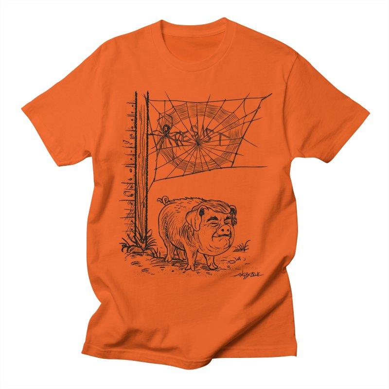 Bad Charlatan Men's T-Shirt by Angryblue