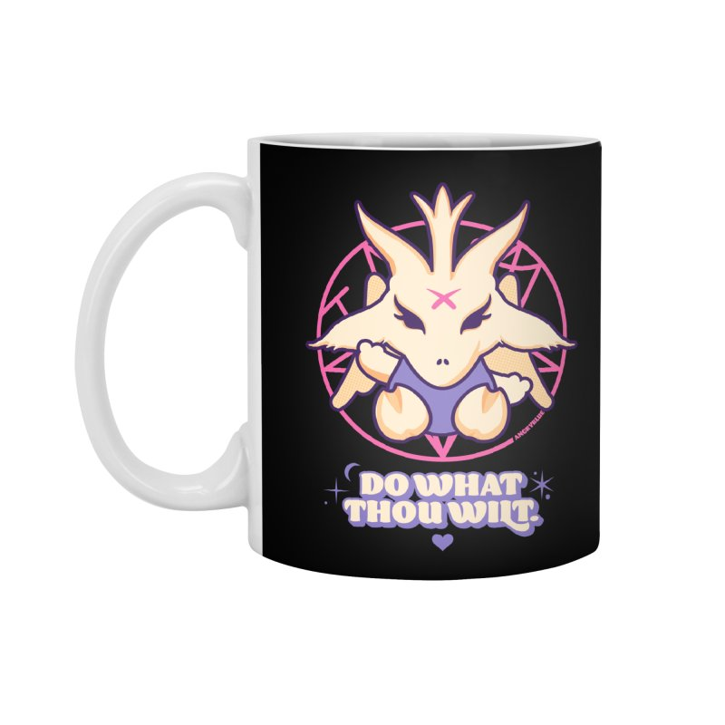 Do What Thou Wilt Accessories Mug by angryblue's Artist Shop