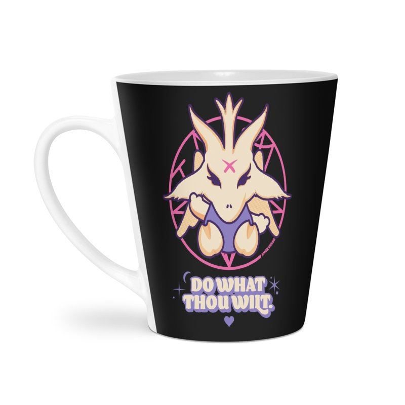 Do What Thou Wilt Accessories Latte Mug by Angryblue