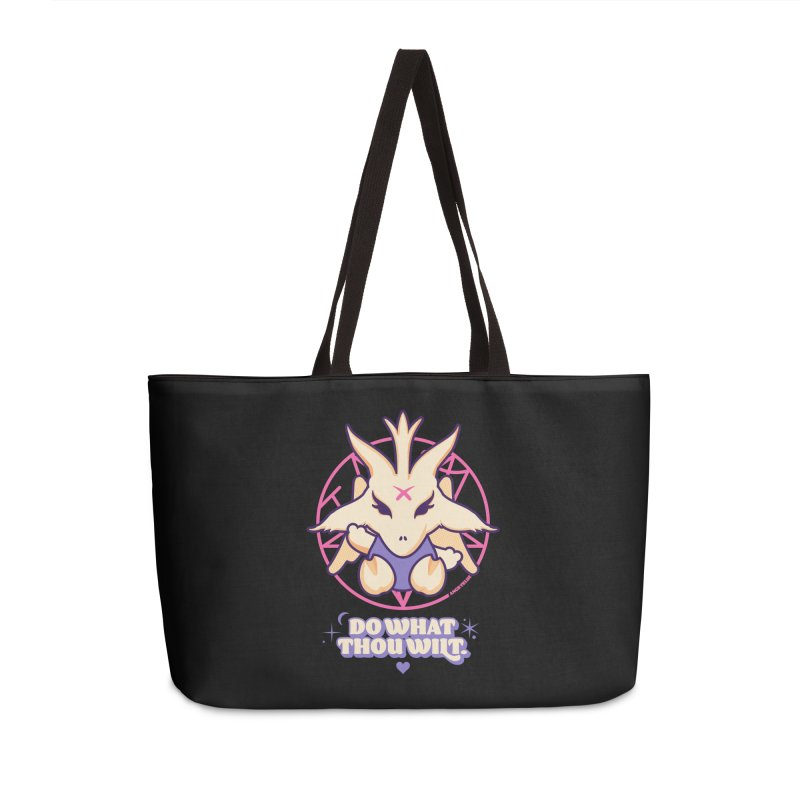 Do What Thou Wilt Accessories Weekender Bag Bag by Angryblue