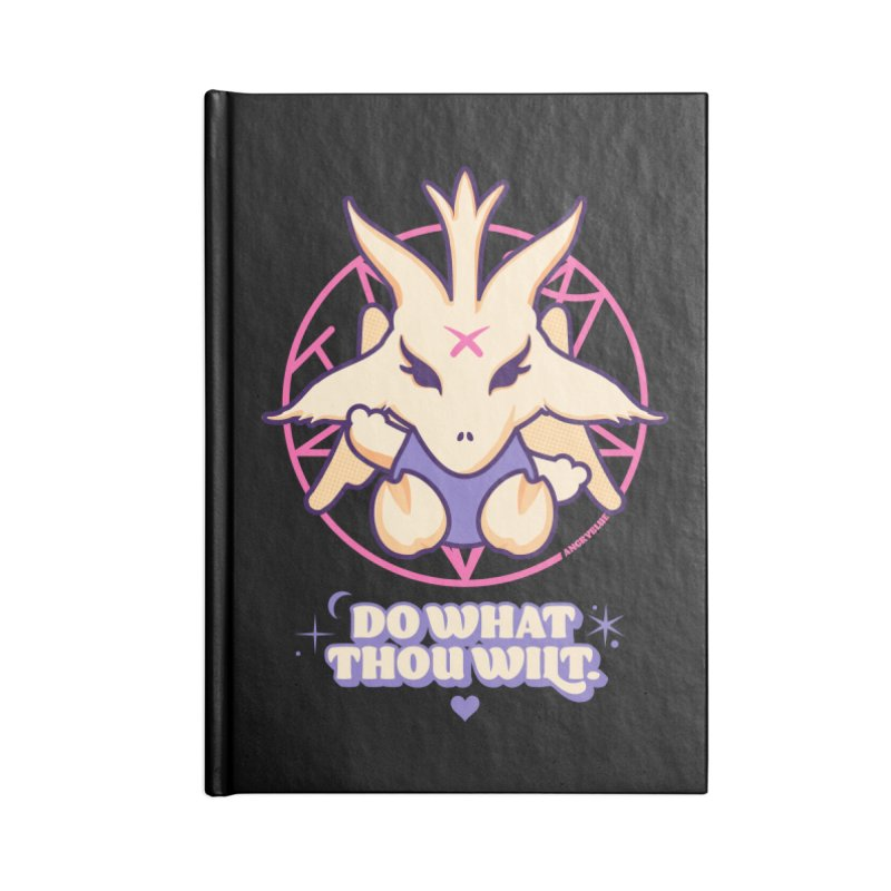 Do What Thou Wilt Accessories Notebook by angryblue's Artist Shop