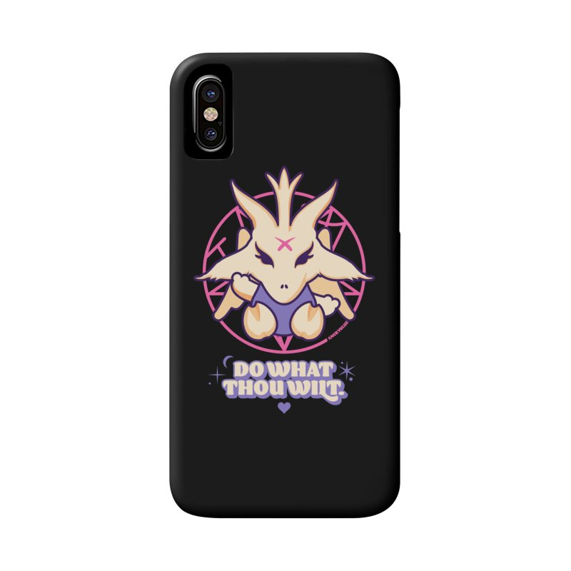 Do What Thou Wilt Accessories Phone Case by Angryblue