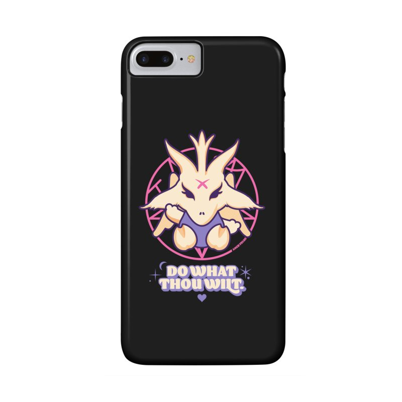 Do What Thou Wilt Accessories Phone Case by angryblue's Artist Shop