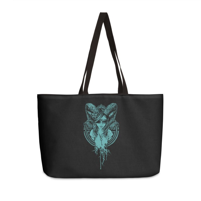 Faun Accessories Weekender Bag Bag by Angryblue