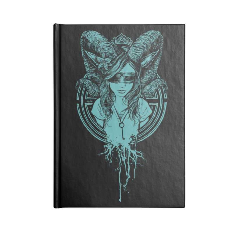 Faun Accessories Blank Journal Notebook by Angryblue
