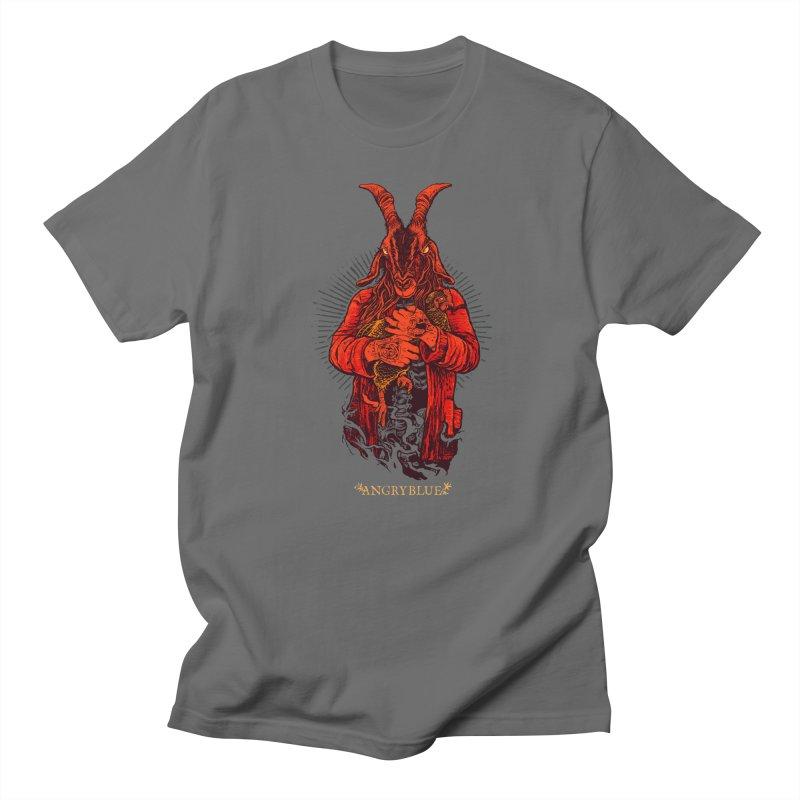 Goat Girl Men's Regular T-Shirt by Angryblue