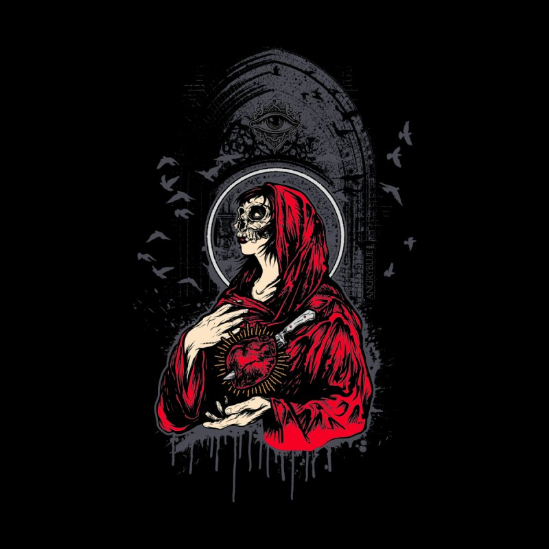 Mary Men's T-Shirt by Angryblue