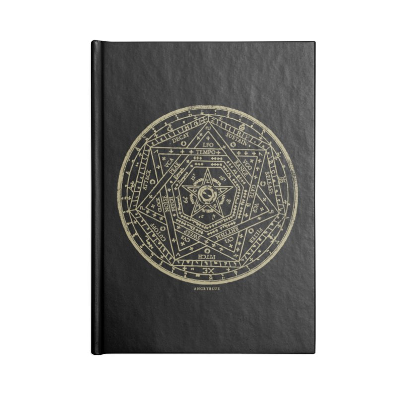 Synth Sigil Accessories Blank Journal Notebook by Angryblue