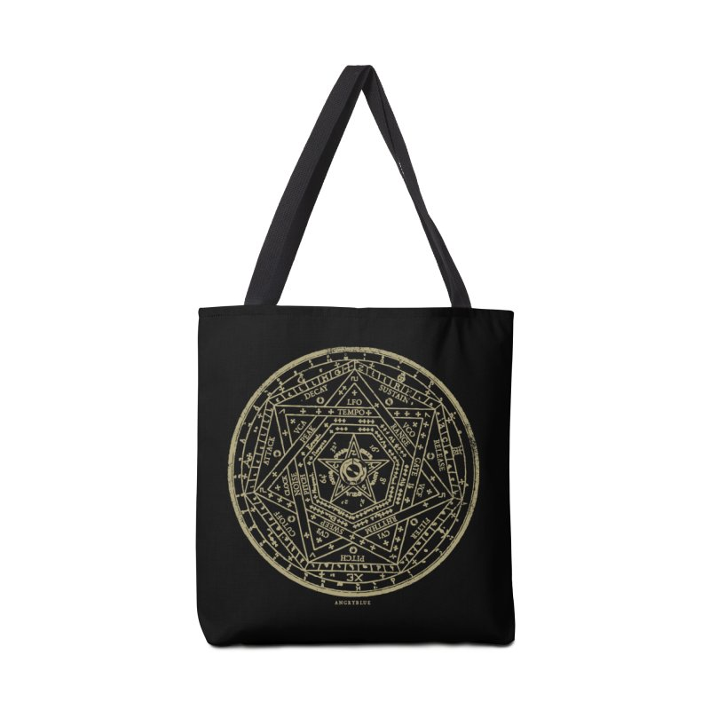 Synth Sigil Accessories Bag by Angryblue