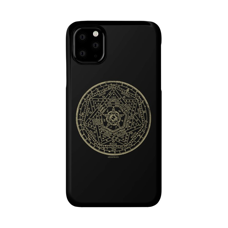 Synth Sigil Accessories Phone Case by Angryblue