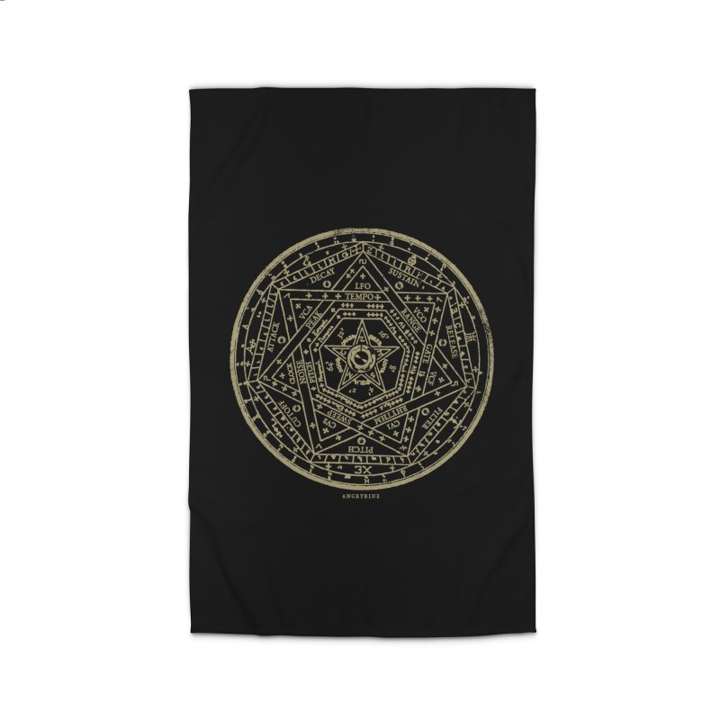 Synth Sigil Home Rug by angryblue's Artist Shop
