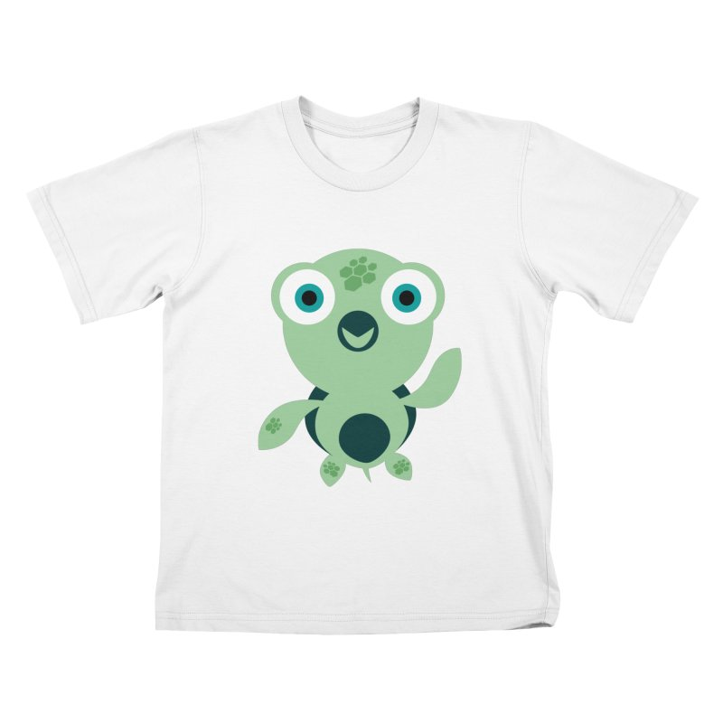 Honu Kids T-Shirt by Angry Guppie Design's Artist Shop