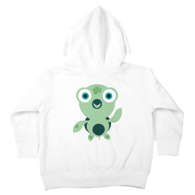 Honu Kids Toddler Zip-Up Hoody by Angry Guppie Design's Artist Shop