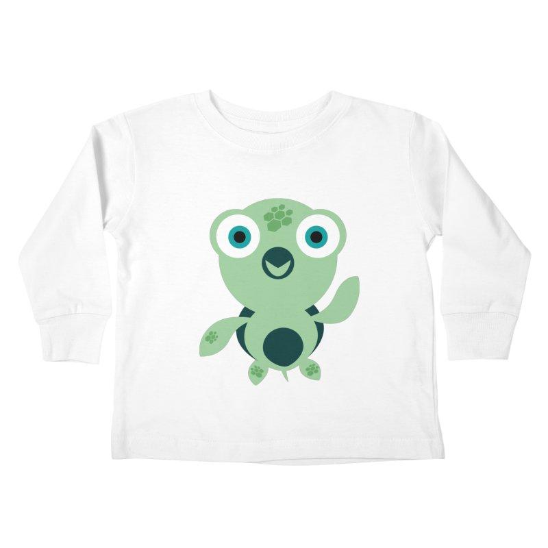Honu Kids Toddler Longsleeve T-Shirt by Angry Guppie Design's Artist Shop